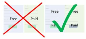 Newsletter Monetization Strategy: Half Free, Half Paid. But the Other Way Round